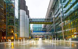 Heathrow airport Terminal 5. London Royalty Free Stock Photo