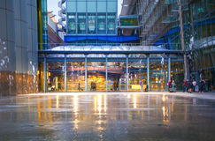 Heathrow airport Terminal 5. London Stock Photos