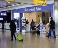 Heathrow Airport - Terminal 5 Royalty Free Stock Photos