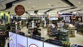 Heathrow Airport - Terminal 5 royalty free stock photography