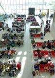Heathrow Airport Waiting Area Stock Photo