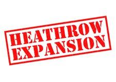 HEATHROW EXPANSION Royalty Free Stock Photo