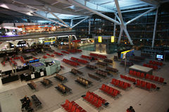 Heathrow terminal Royalty Free Stock Photography
