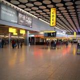 Heathrow terminal Royalty Free Stock Photos
