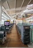 Heathrow, terminal 5, Londres, Reino Unido - 25 de septiembre de 2017: T interior Fotos de archivo
