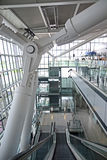 Heathrow terminal 5 pillars Stock Photos