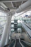 Heathrow terminal 5 pillars Stock Photos
