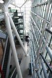 Heathrow terminal 5 pillars Stock Photography