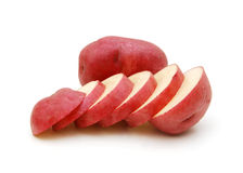 A heathy red potatoes Royalty Free Stock Images