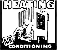 Heating Air Conditioning Stock Photography