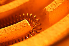Heating coil Royalty Free Stock Images