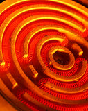 Heating coil Royalty Free Stock Photos