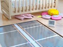 Heating concept. Underfloor heating. Stock Images