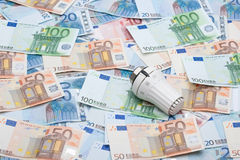 Heating costs Royalty Free Stock Photo