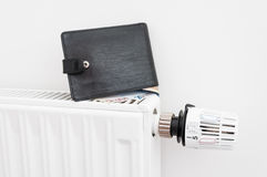 Heating costs Royalty Free Stock Photos