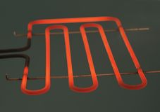 Heating element Stock Image