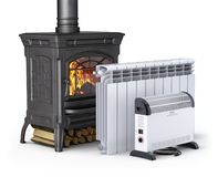 Heating equipment Stock Photography