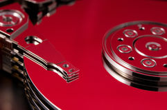 Heating hard disk Stock Photography