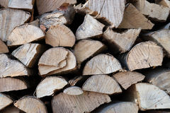 Heating material wood Royalty Free Stock Photo