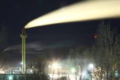 Heating plant royalty free stock photos