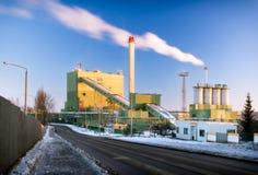 Heating plant. Royalty Free Stock Photo