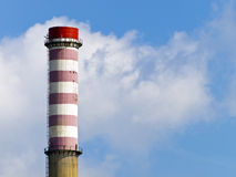 Heating and power plant Royalty Free Stock Image