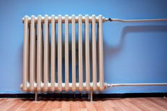 Heating radiator Stock Image