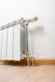 Heating radiator at home Royalty Free Stock Photo