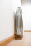 Heating radiator at home Stock Photo