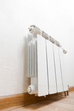 Heating radiator at home Stock Photography