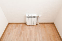 Heating radiator at home Royalty Free Stock Image