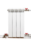 Heating radiator Stock Images