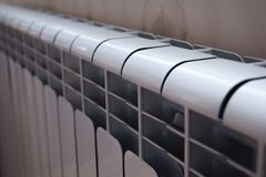 Heating radiator. Will warm Royalty Free Stock Photos
