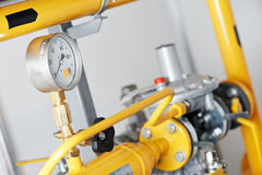 Heating system Boiler room equipments Stock Image