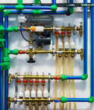 Heating system Stock Images