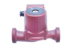 Heating water pump Royalty Free Stock Image