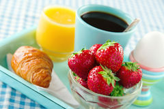 Heatlhy breakfast Royalty Free Stock Photos