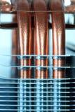 Heatpipe de cobre Fotografía de archivo
