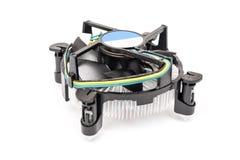 Heatsink и охладитель C.P.U. компьютера Стоковое фото RF