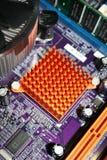heatsink набора микросхем моста северный Стоковые Изображения