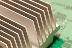 Heatsink набора микросхем Стоковое Изображение RF