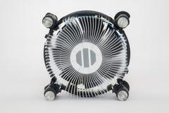 Heatsink охлаждающего вентилятора процессора компьютера Стоковые Фотографии RF