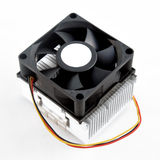 Heatsink cooler fan Stock Photos