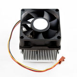 Heatsink cooler fan Stock Photo