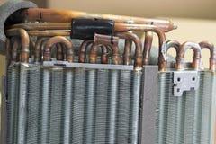 Heatsink van de airconditioner royalty-vrije stock foto's