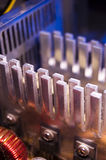 Heatsinks royalty-vrije stock fotografie