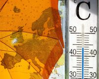 Heatwave in Europe Stock Photos