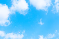 Heaven. A blue heaven as a symbol for faith, belief,religion, meditation Royalty Free Stock Photo