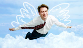 In heaven Stock Image