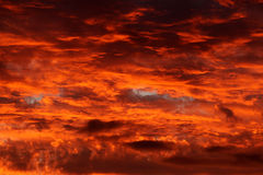 Dramatic sky sunset sunrise  Stock Photography